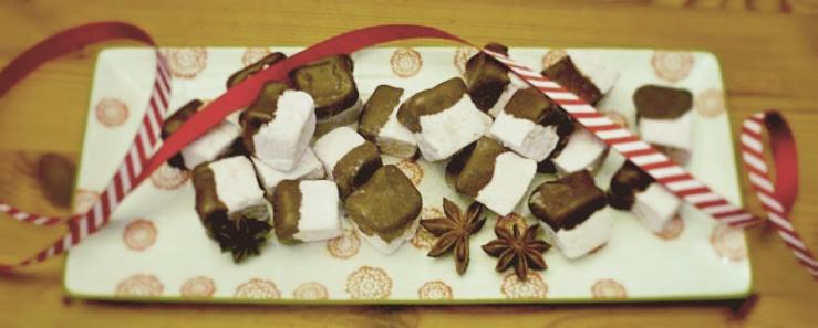 Christmas spiced marshmallos