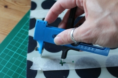 Using a circular cutter, perfect for helping to make tuile templates