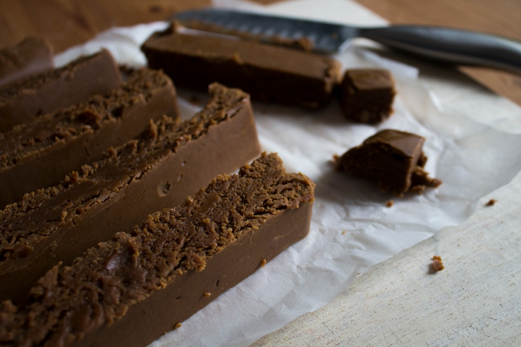 rich peanut butter fudge by inksugarspice