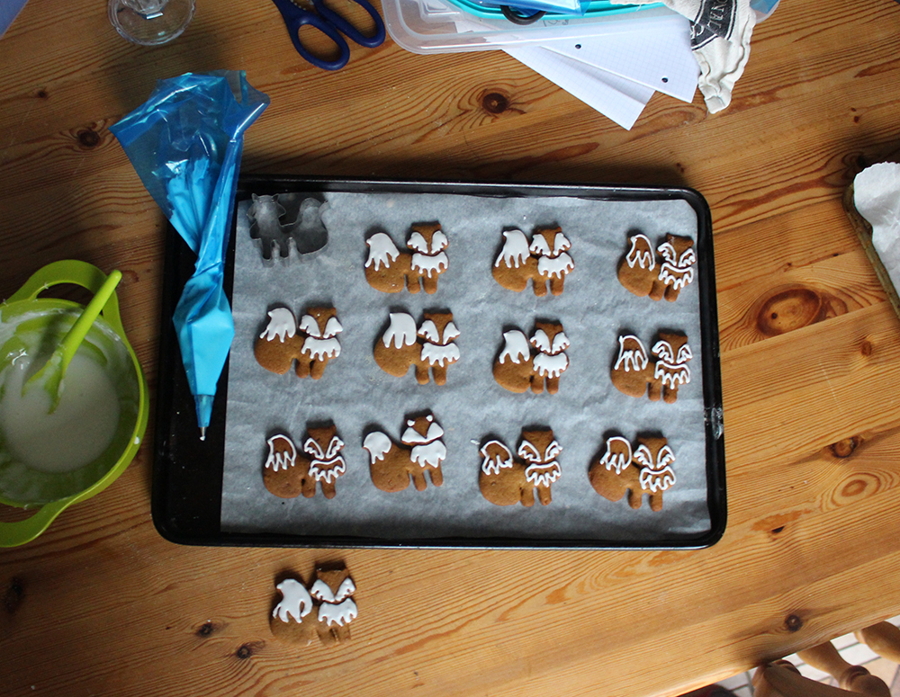 gingerbread foxes recipes and how to make your own cutter