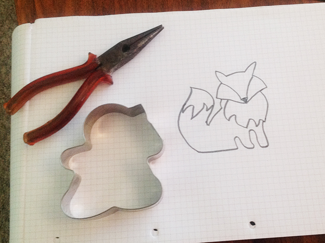 Making a fox cutter - first stages