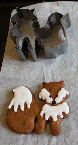 Gingerbread Foxes Plus Make Your Own Cutter Ink Sugar Spice