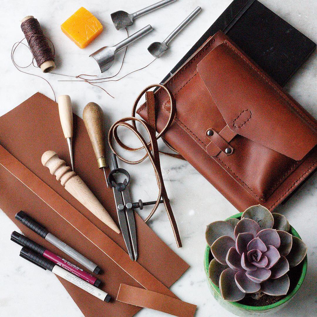 Leather working by Ink Sugar Spice www.inksugarspice.wordpress.com #leather #craft @inksugarspice