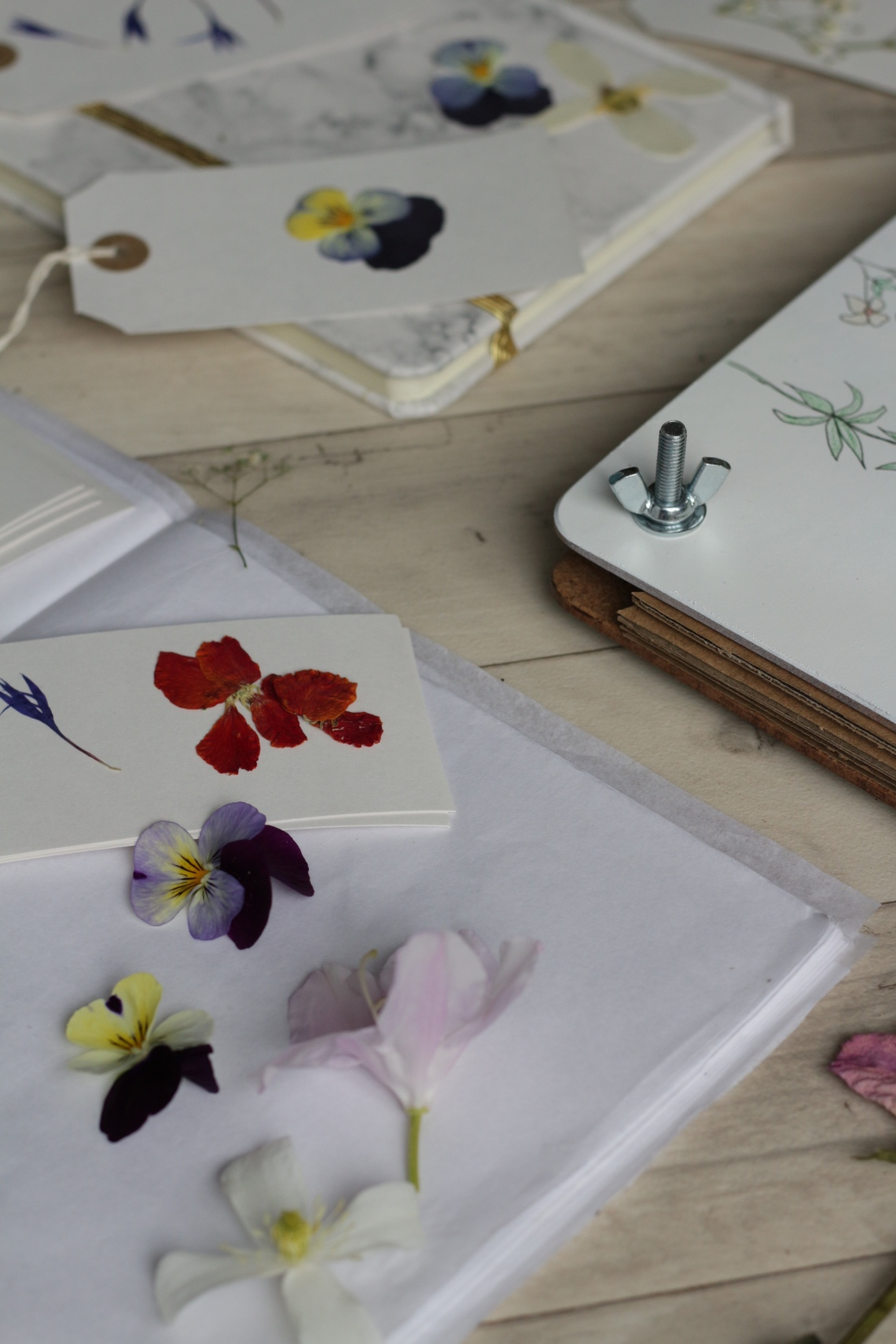 Dried flowers - Making a flower press | Ink Sugar Spice blog