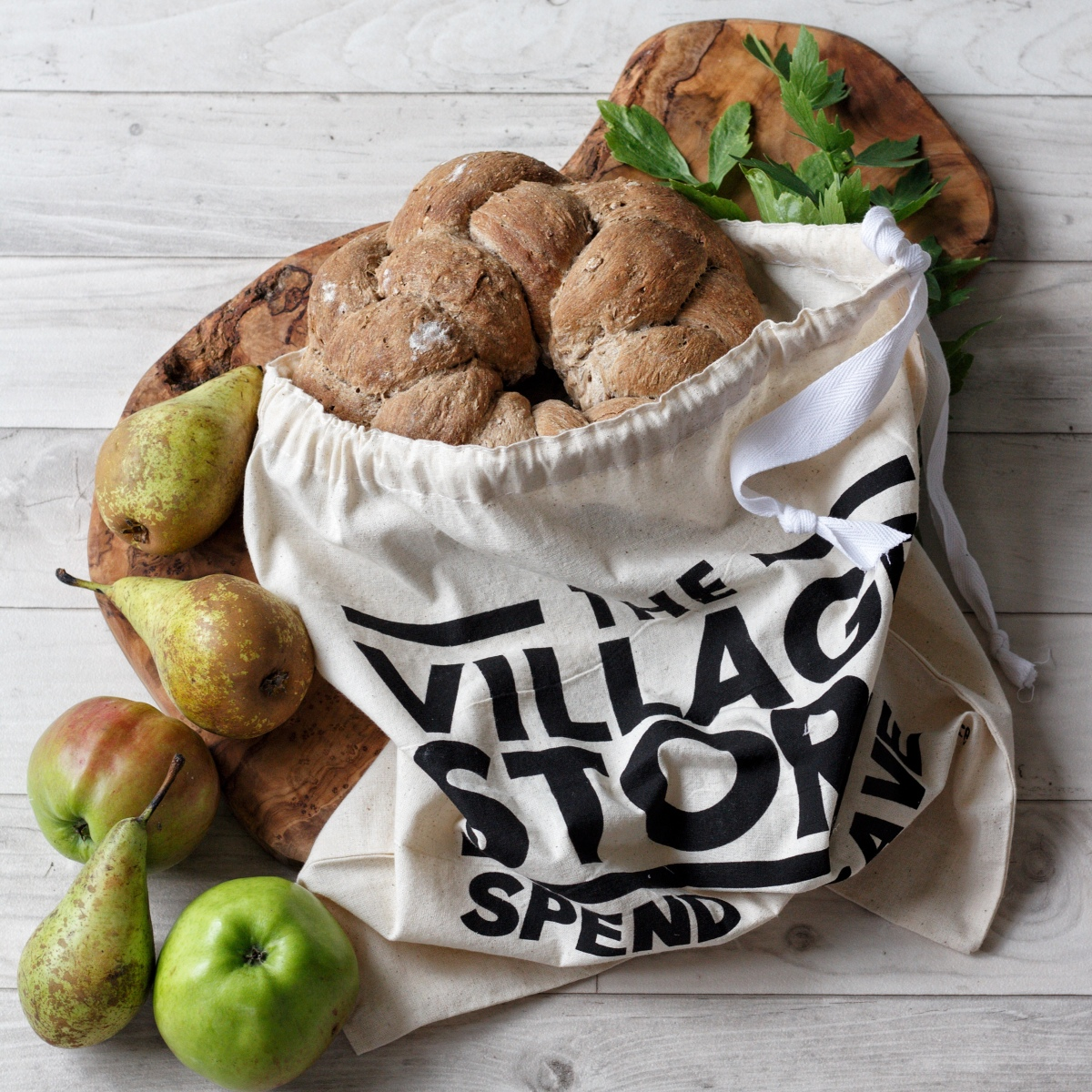 Make your own bread bag - Ink Sugar Spice website