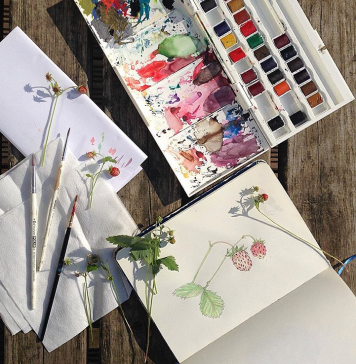 Using Analogue Creative Hobbies For Mental Wellbeing And A Huge List Of Hobby Ideas Ink Sugar Spice